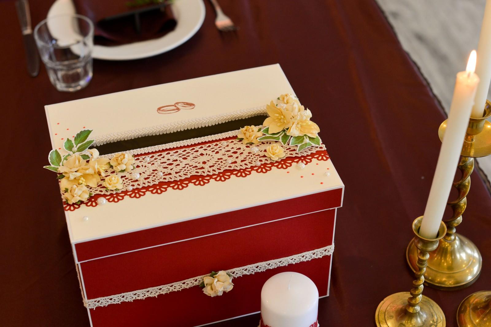 рисовал как можно красиво оформить коробку для пожеланий роль общей