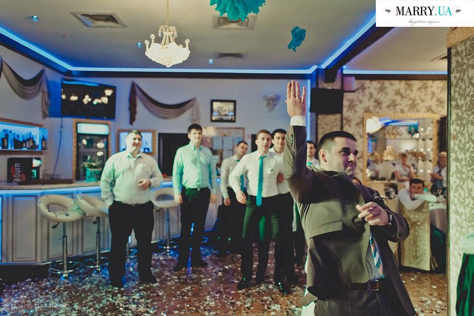 Свадебные традиции на банкете