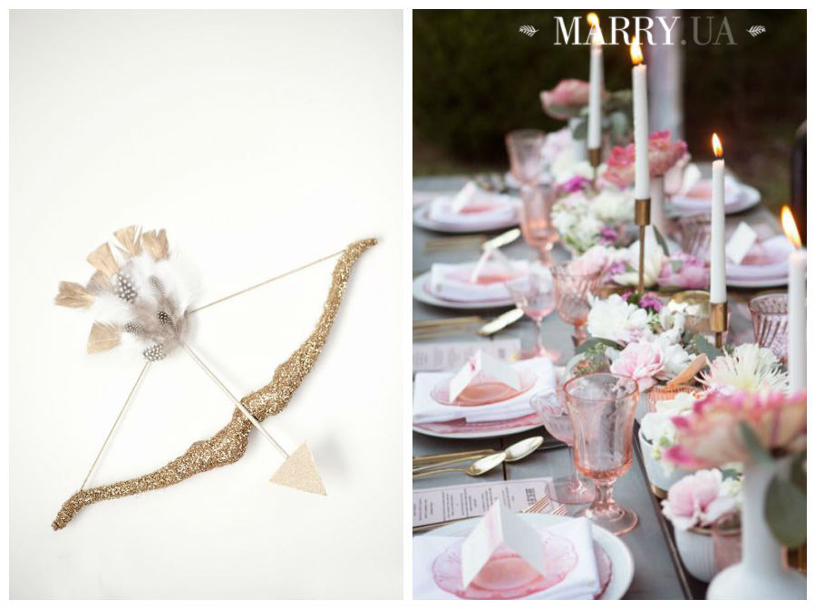 Valentines day wedding photo ideas and inspiration - hearts, narrows, love pink and red (10)