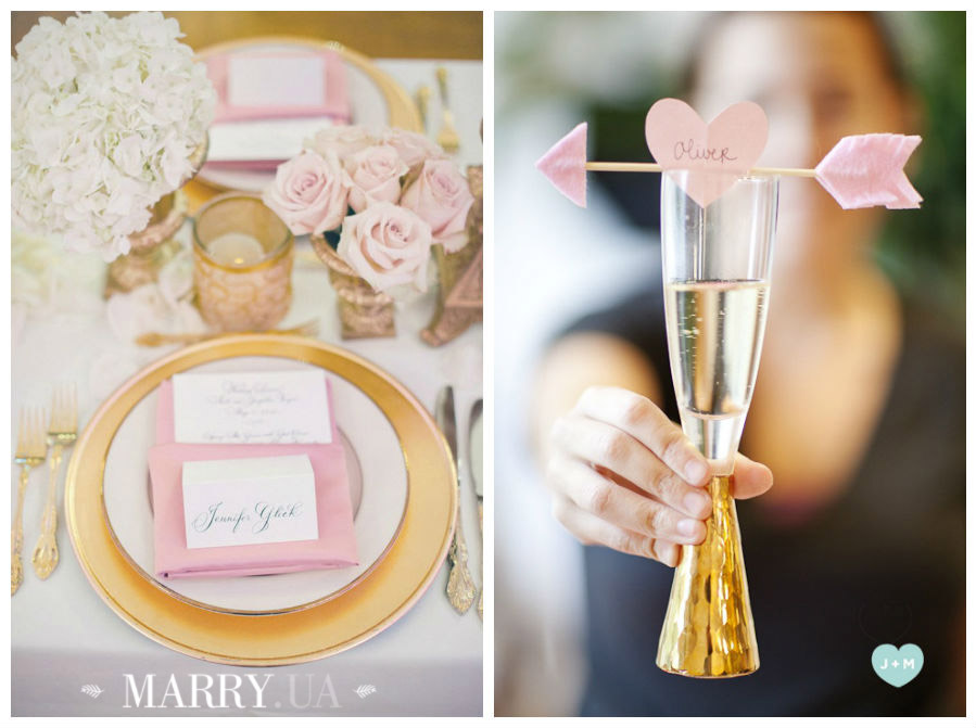 Valentines day wedding photo ideas and inspiration - hearts, narrows, love pink and red (3)