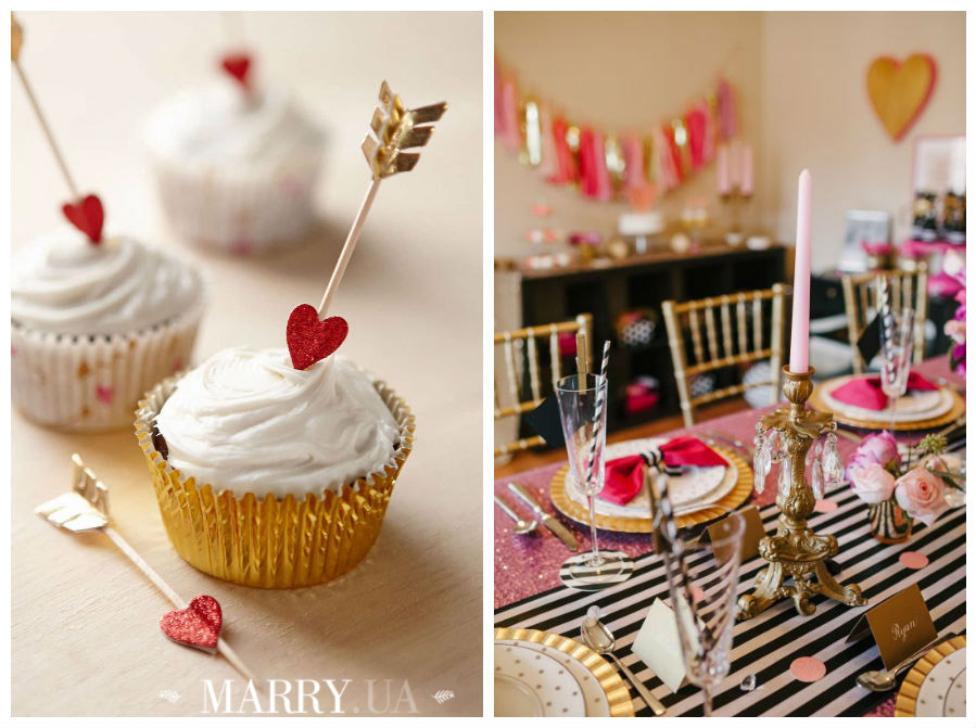 Valentines day wedding photo ideas and inspiration - hearts, narrows, love pink and red (8)