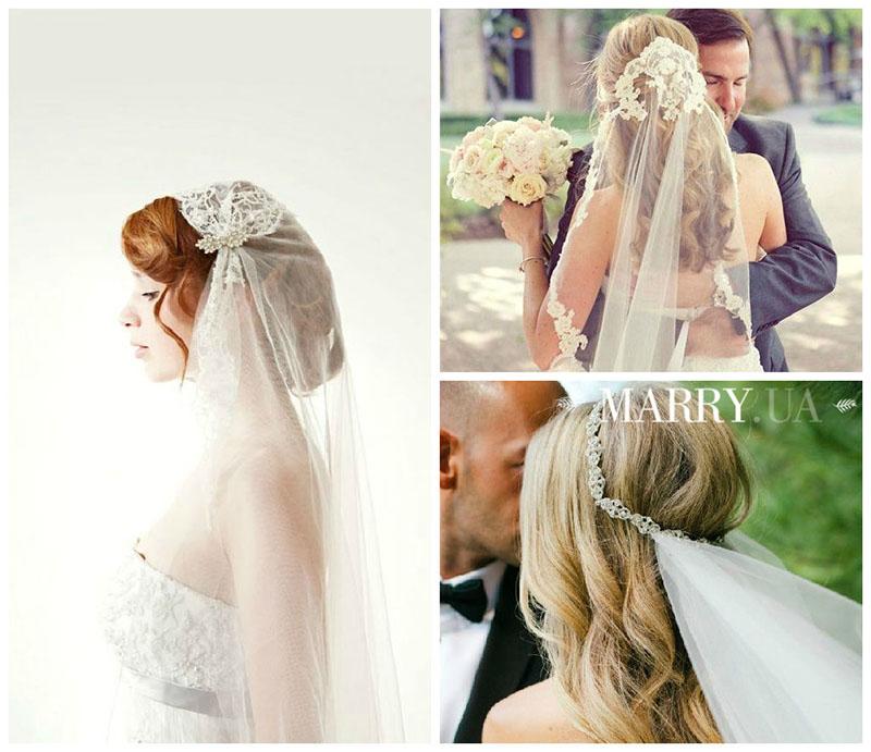 свадебные прически пошаговое фото под фату модное, стильное