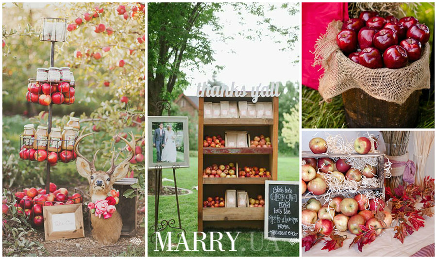 apple wedding decoration1