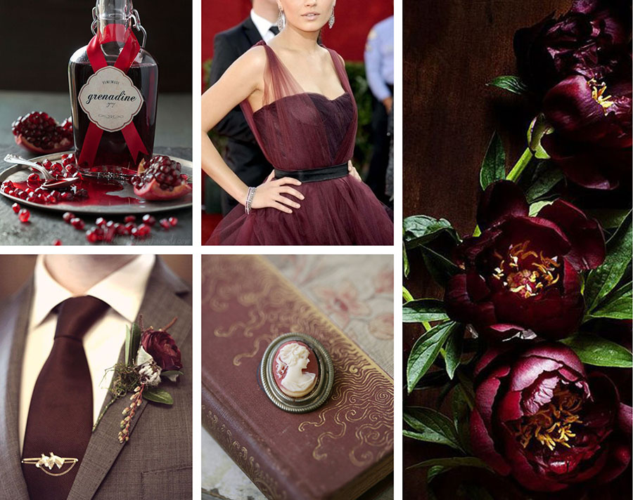 inspiration marsala wedding (1)
