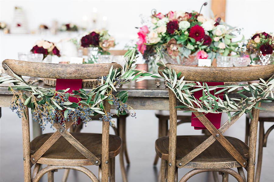 inspiration marsala wedding (4)