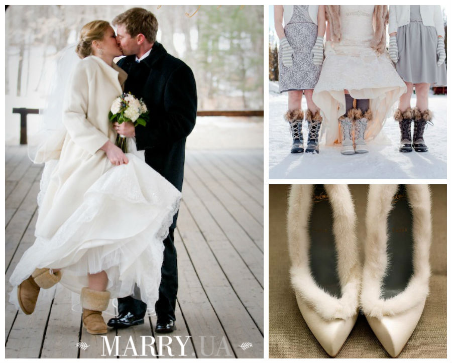 winter wedding boots, uggs, hunters (1)