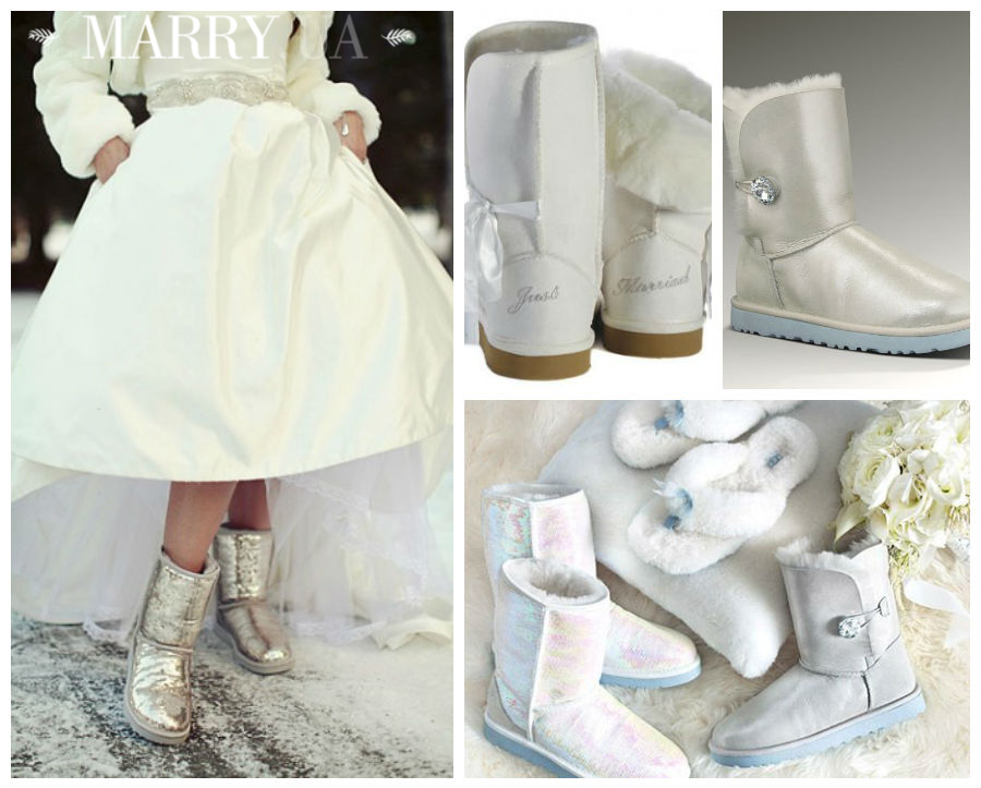 winter wedding boots, uggs, hunters (2)