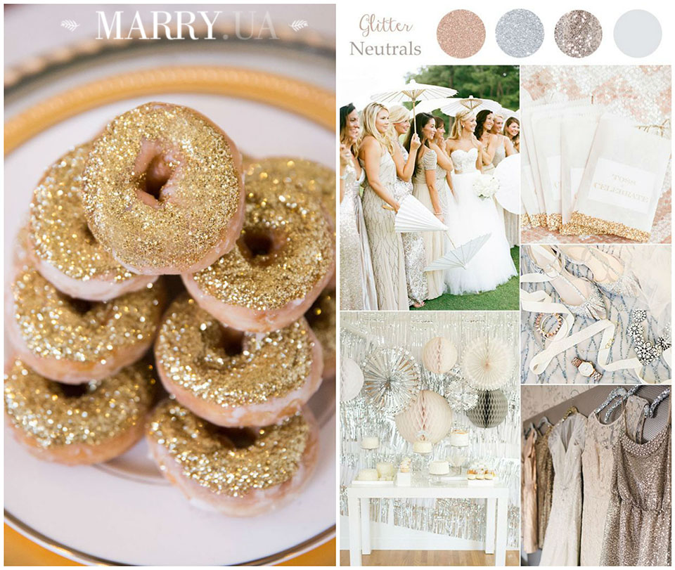 12 - copper bronze gol wedding ideas photo