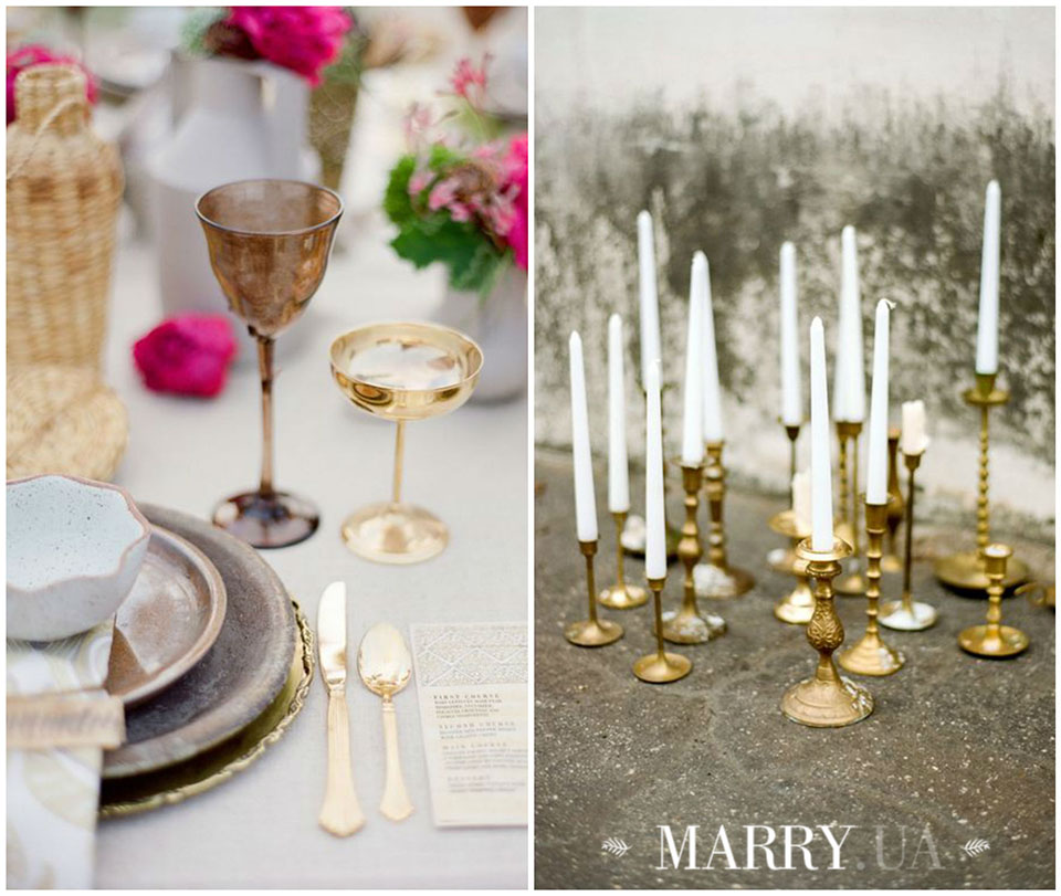 13 - copper bronze gol wedding ideas photo