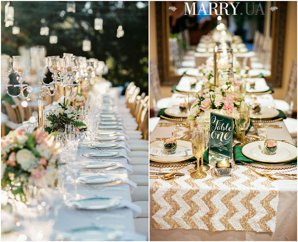37 - wedding long guest tables photo