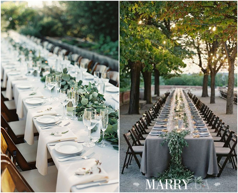 38 - wedding long guest tables photo