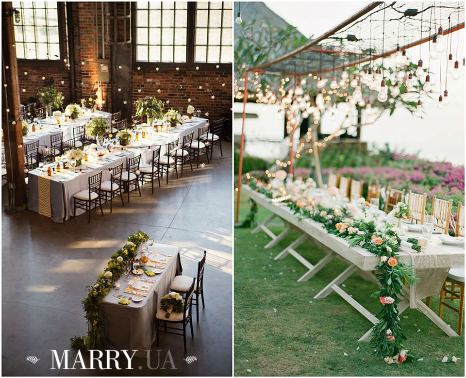 39 - wedding long guest tables photo
