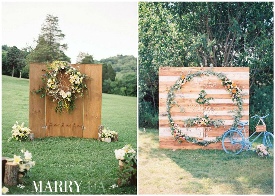 5 - wooden backdrops photo