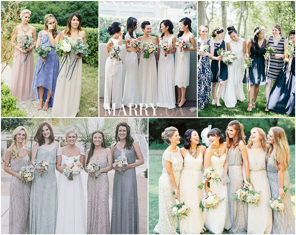 55 - mix and match bridesmaid dresses 2016, photo