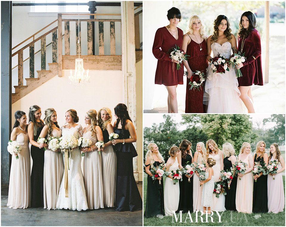 57 - mix and match bridesmaid dresses 2016, photo