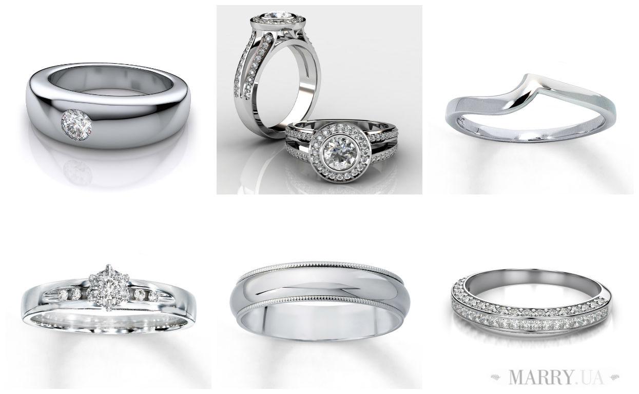 Обручальные кольца из белого золота — Свадебный портал Marry 1ff4a0445a9