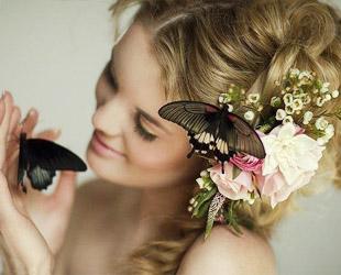 Оригинальная свадьба в стиле Бабочки любви