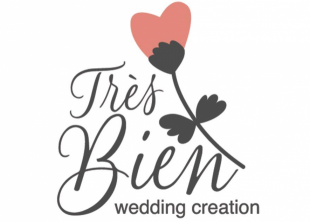Wedding studio Trés Bien - лого
