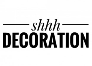 Shhh_decoration - лого