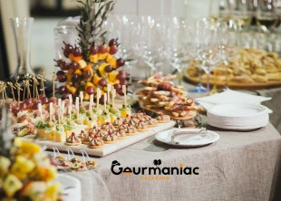 Gourmaniac Catering - лого