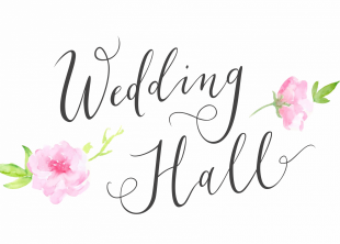 Wedding hall - лого