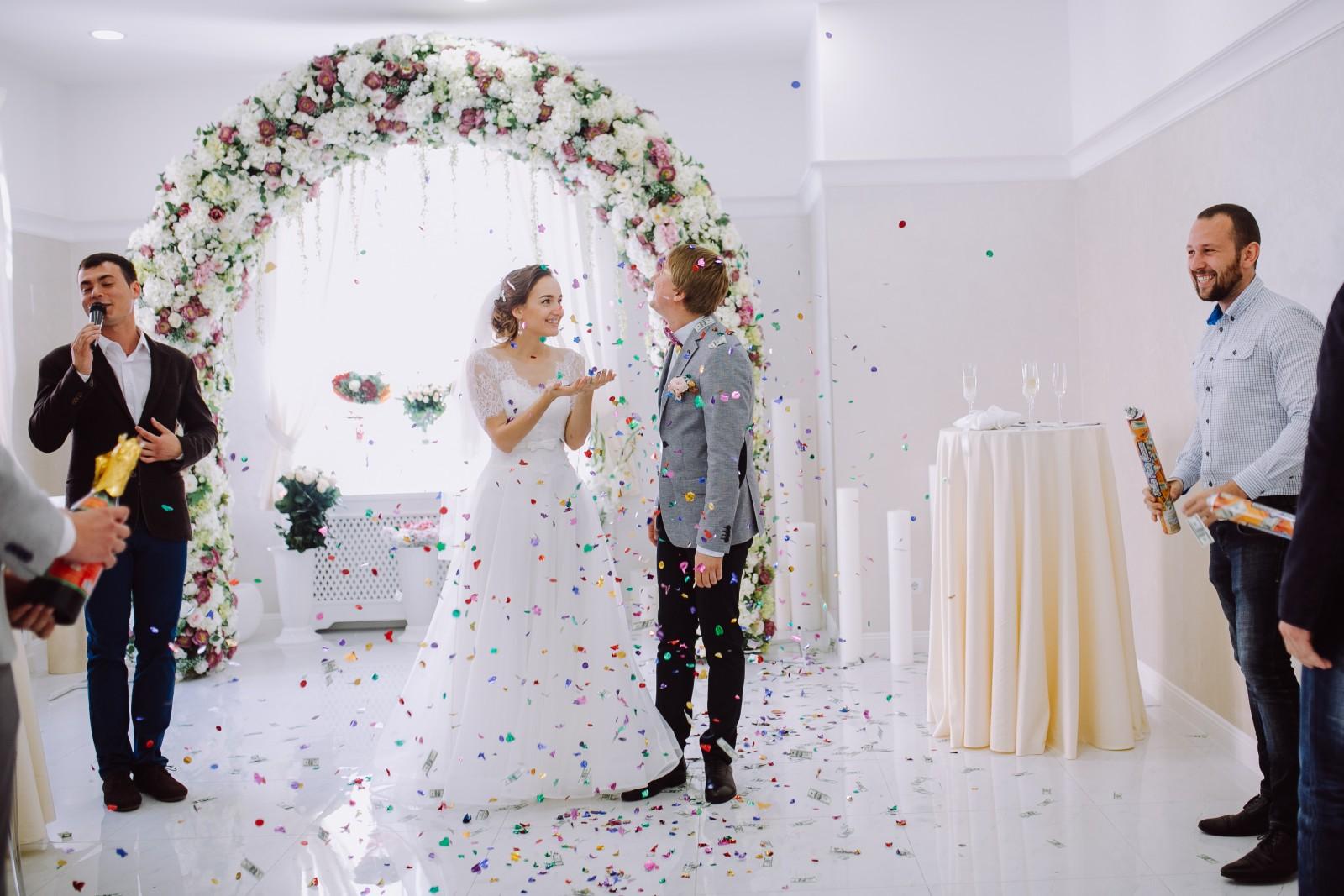 Фото интересных поздравлений свадьбы