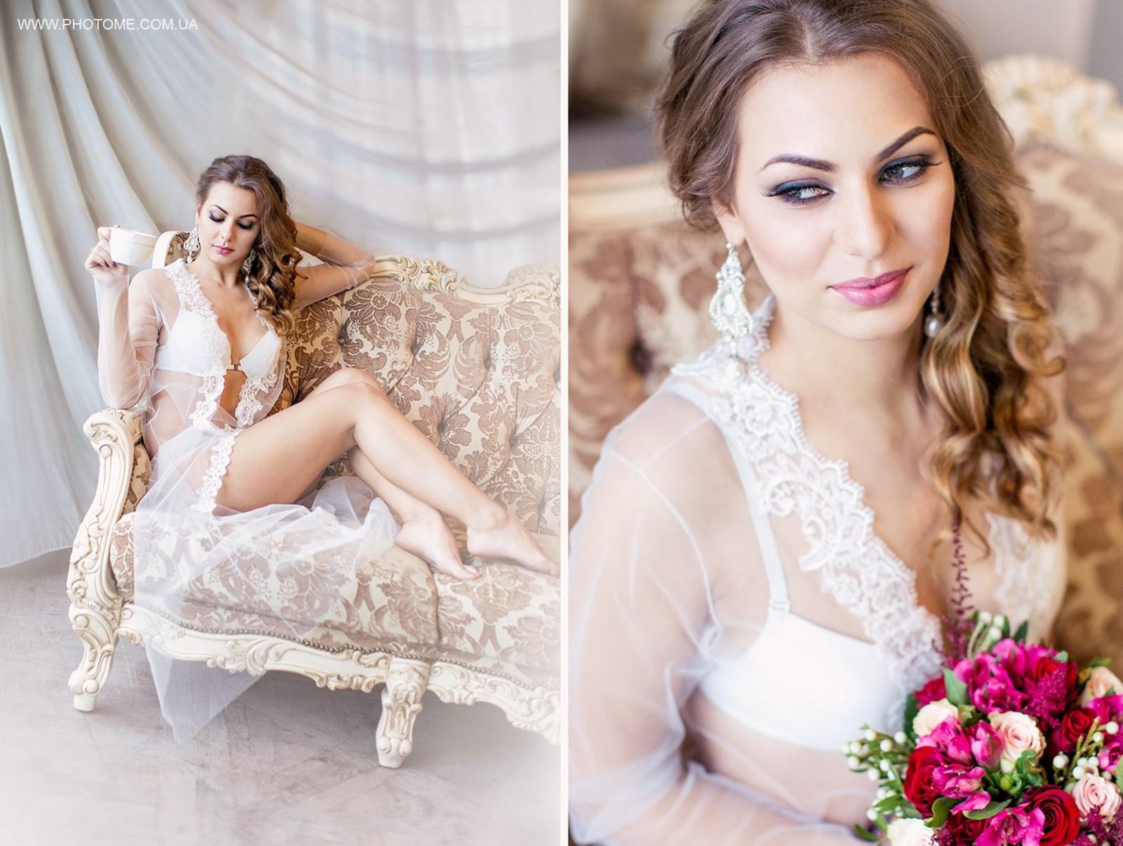 Прическа макияж свадьба цена