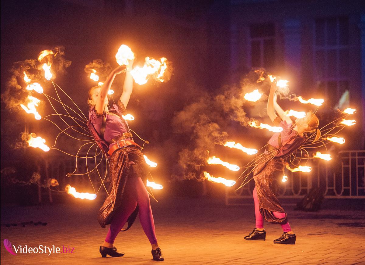 Как делать фото с огнем