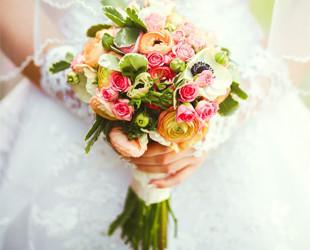 свадебные букеты - фото 2015